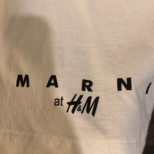 Marni Tops - Marni H&M Limited Tee T-shirt XS